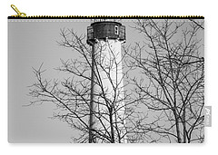 Cape May Light B/w Carry-all Pouch