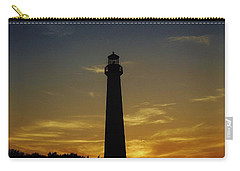 Cape May Lighthouse At Sunset Carry-all Pouch by Ed Sweeney