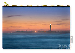 Cape May Lighthouse Sunset Carry-all Pouch by Michael Ver Sprill