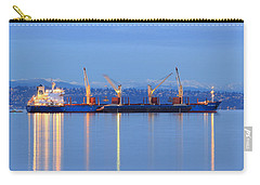 Carry-all Pouch featuring the photograph Cape Moreton by E Faithe Lester