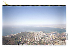 Cape Town Panorama Carry-all Pouch by Shaun Higson