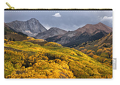 Capitol Peak In Snowmass Colorado Carry-all Pouch