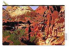 Capitol Reef National Park Vintage Poster Carry-all Pouch