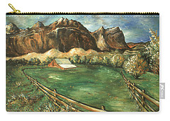 Capitol Reef Utah - Landscape Art Painting Carry-all Pouch