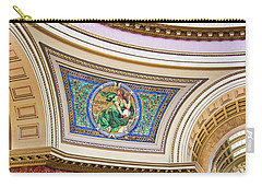 Capitol - Madison - Wisconsin Carry-all Pouch by Steven Ralser