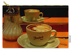 Carry-all Pouch featuring the photograph Cappuccino by Caroline Stella