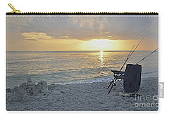 Carry-all Pouch featuring the photograph Captiva Sunset by Carol  Bradley