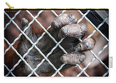Carry-all Pouch featuring the photograph Captive Heart by Sennie Pierson
