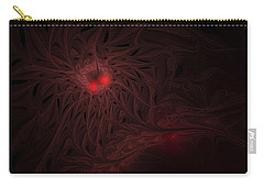 Carry-all Pouch featuring the digital art Captive Soul by GJ Blackman