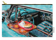 Classic Cars Carry-all Pouch featuring the photograph Car Side  by Aaron Berg