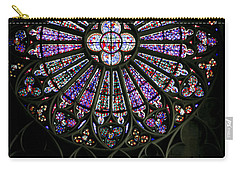 Carcassonne Rose Window Carry-all Pouch