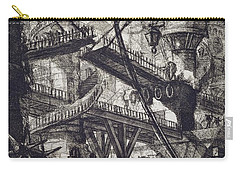 Carceri Vii Carry-all Pouch by Giovanni Battista Piranesi