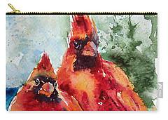 Cardinal Birds Carry-all Pouch