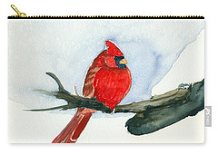 Cardinal Carry-all Pouch by Katherine Miller