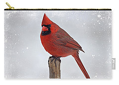 Cardinal Perching Carry-all Pouch