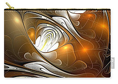 Carry-all Pouch featuring the digital art Carefree by Anastasiya Malakhova