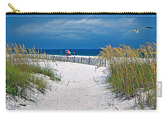 Carefree Days By The Sea Carry-all Pouch