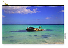 Carry-all Pouch featuring the photograph Caribbean Colors  by Eti Reid