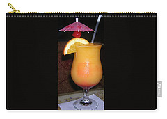 Carry-all Pouch featuring the photograph Caribbean Fuzzy Peach Naval by Emmy Marie Vickers
