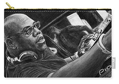 Carl Cox Pencil Drawing Carry-all Pouch