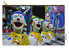 Carnival Clowns Carry-all Pouch