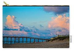 Carolina Blue Over Kure Beach Carry-all Pouch