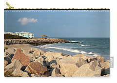Carry-all Pouch featuring the photograph Carolina Coast by Cynthia Guinn