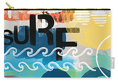 Carousel #7 Surf - Contemporary Abstract Art Carry-all Pouch