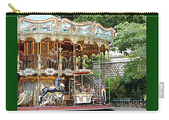 Carousel In Paris Carry-all Pouch