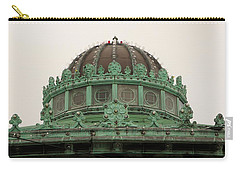 Carry-all Pouch featuring the photograph Carousel Roof Asbury Park Nj by John Williams