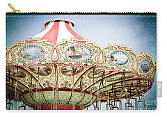 Carousel Top Carry-all Pouch by Colleen Kammerer