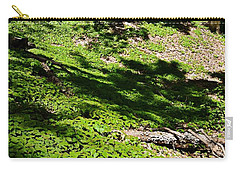 Carpeted In Green Carry-all Pouch