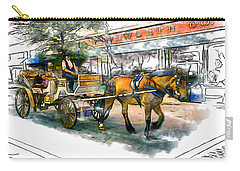 Carriage Ride Carry-all Pouch
