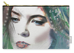 Carrie Under Veil Carry-all Pouch