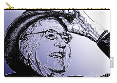 Carroll Shelby In 2006 Carry-all Pouch by J McCombie