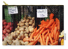 Carrots Potatoes And Honey Carry-all Pouch by Susan Savad