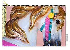 Carrousel Horse Carry-all Pouch