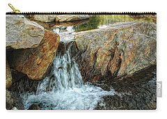 Cascading Downward Carry-all Pouch