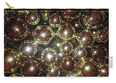 Carry-all Pouch featuring the photograph Casino Sparkle Interior Decorations by Navin Joshi