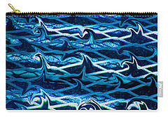 Carry-all Pouch featuring the photograph Cast Your Net Upon The Waters by Stephanie Grant