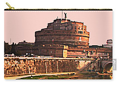 Carry-all Pouch featuring the photograph Castel Sant 'angelo by Brian Reaves