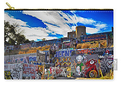 Castle Graffiti Art Carry-all Pouch