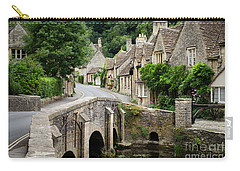 Castle Combe Cotswolds Village Carry-all Pouch