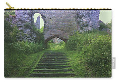 Carry-all Pouch featuring the photograph Castle Gate by John Williams