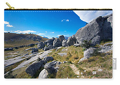 Carry-all Pouch featuring the photograph Castle Hill #4 by Stuart Litoff
