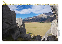 Carry-all Pouch featuring the photograph Castle Hill #5 by Stuart Litoff