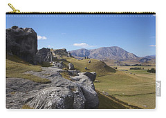 Carry-all Pouch featuring the photograph Castle Hill #6 by Stuart Litoff