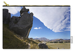 Carry-all Pouch featuring the photograph Castle Hill #7 by Stuart Litoff