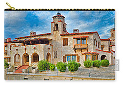 Castle In A Desert, Scottys Castle Carry-all Pouch