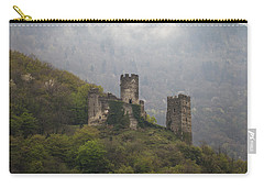 Castle In The Mountains. Carry-all Pouch by Clare Bambers